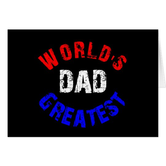 World's Greatest Dad Gifts Post Card
