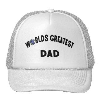 Worlds Greatest Dad Mesh Hats