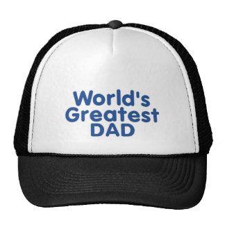 Worlds Greatest DAD Trucker Hats