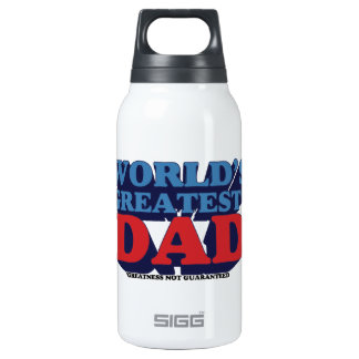 World's Greatest* Dad Insulated Water Bottle