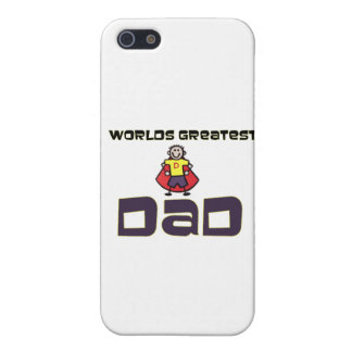 Worlds Greatest Dad iPhone 5 Cases