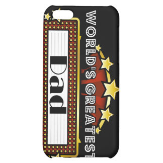 World's Greatest Dad iPhone 5C Cases