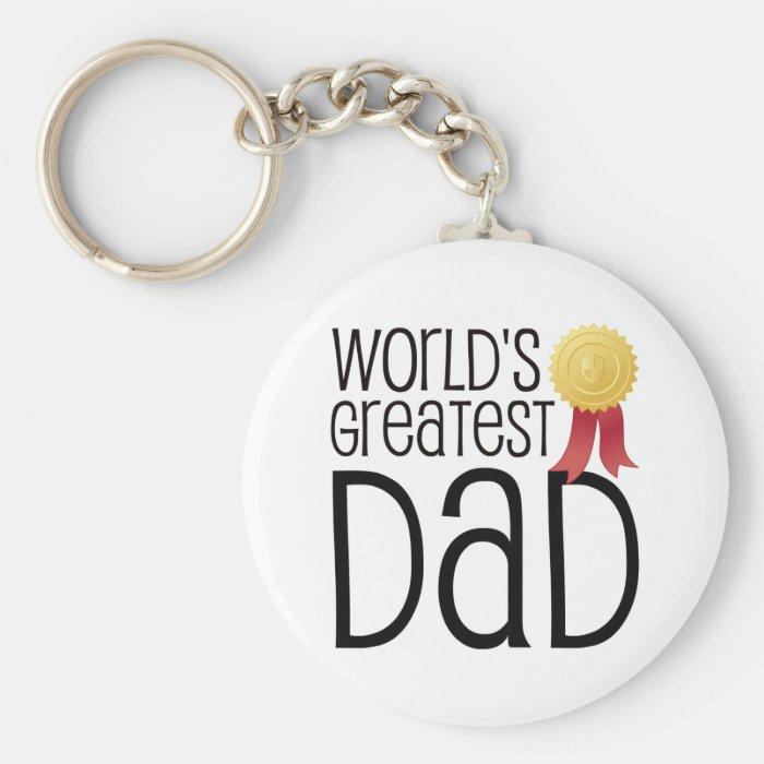 WORLDS GREATEST DAD KEYCHAIN