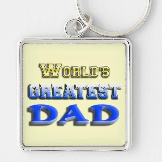 World's Greatest Dad Keychain