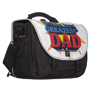 World's Greatest* Dad Laptop Bags
