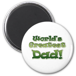 World's Greatest Dad Magnets
