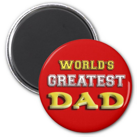 World's Greatest Dad Magnet
