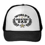 World's Greatest Dad Mesh Hats