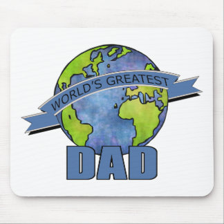 World's Greatest Dad Mouse Pad