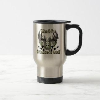 Worlds greatest dad 15 oz stainless steel travel mug