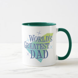 Combo Mug with World's Greatest Dad design