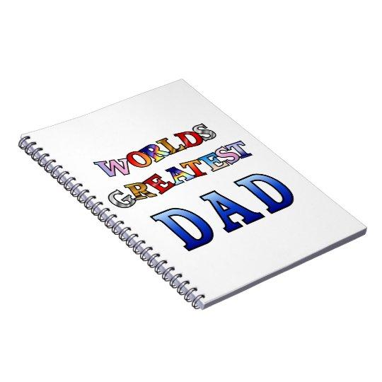 Worlds Greatest Dad Notebook