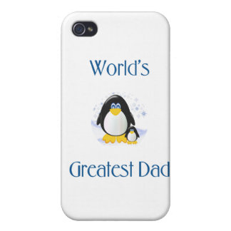 World's Greatest Dad (penguin) Case For iPhone 4