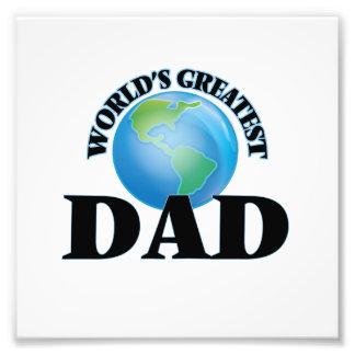 World's Greatest Dad Photo Print