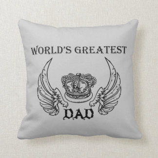 World's Greatest Dad Pillow