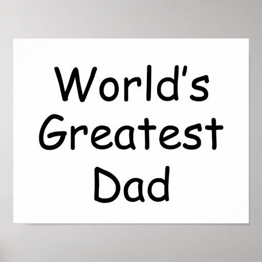 Worlds Greatest Dad Print