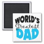 World's Greatest Dad Refrigerator Magnet