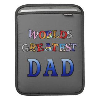 Worlds Greatest Dad Rickshaw Sleeve Sleeves For iPads