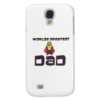 Worlds Greatest Dad Samsung Galaxy S4 Cases