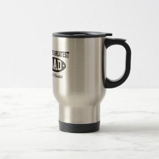 World's Greatest Dad Semi-Finalist 15 Oz Stainless Steel Travel Mug