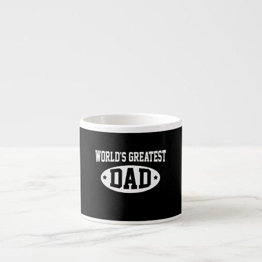 World's Greatest Dad Espresso Cups
