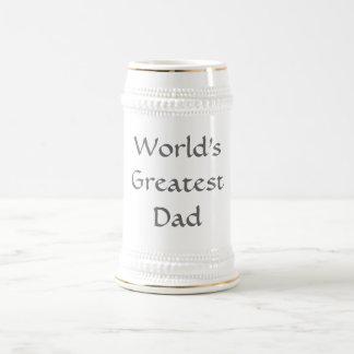 World's Greatest Dad Stein