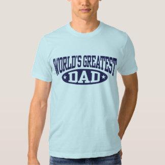 World's Greatest Dad T Shirt