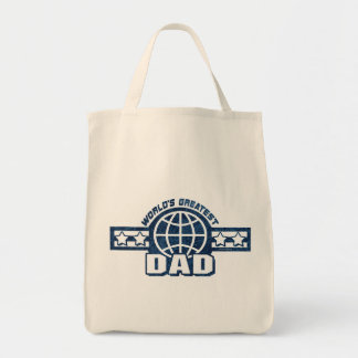 World's Greatest Dad T-shirts Gifts Tote Bag