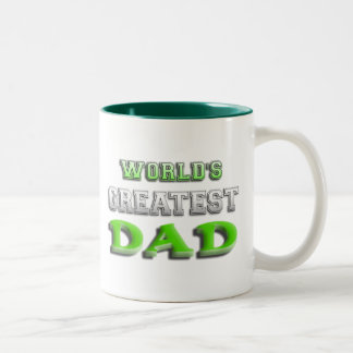 World's Greatest Dad Two-Tone Coffee Mug