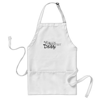 Worlds Greatest Daddy Adult Apron