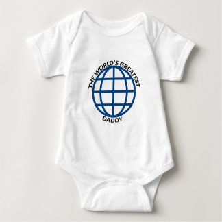 World's Greatest Daddy Baby Bodysuit
