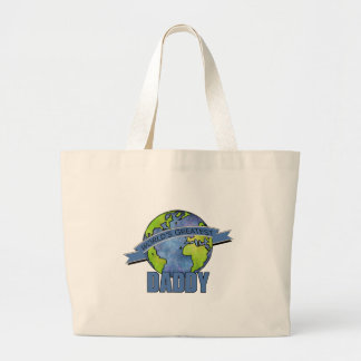 World's Greatest Daddy Canvas Bag