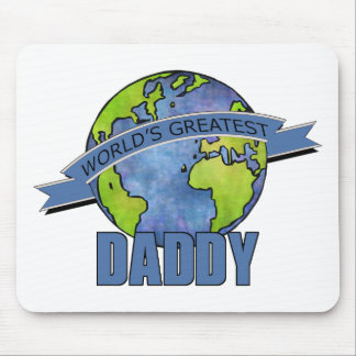 World's Greatest Daddy Mouse Mat