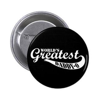 World's Greatest Daddy-o Button