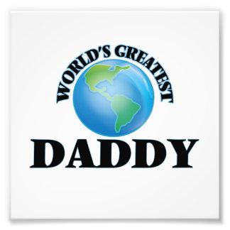 World's Greatest Daddy Photo Print