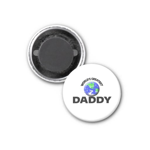 World's Greatest Daddy Refrigerator Magnets