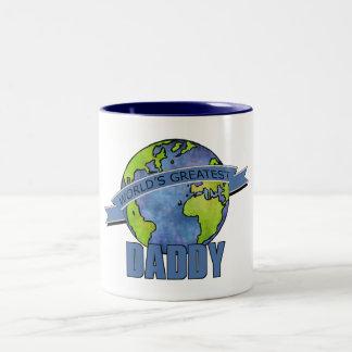 World's Greatest Daddy Two-Tone Coffee Mug