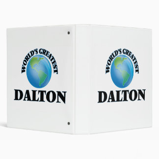 World's Greatest Dalton Binder