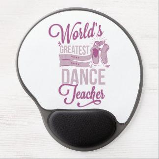 World's Greatest Dance Teacher Gel Mouse Pad