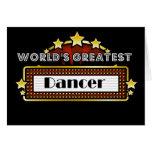 World's Greatest Dancer Card