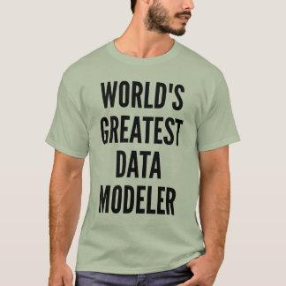 Worlds Greatest Data Modeler T-Shirt