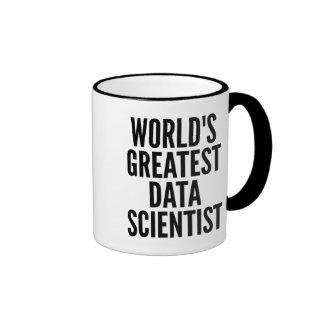 Worlds Greatest Data Scientist Ringer Mug