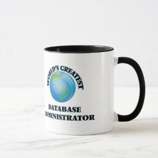 World's Greatest Database Administrator Mug