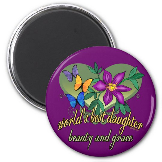 World's Greatest Daughter Gifts Magnet