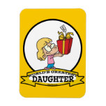 WORLDS GREATEST DAUGHTER II CARTOON MAGNETS