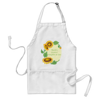 World's Greatest Daughter in Law Adult Apron