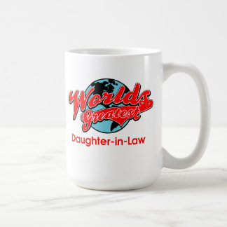World's Greatest Daughter-in-Law Coffee Mug