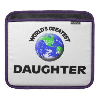 World's Greatest Daughter iPad Sleeves