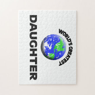 World's Greatest Daughter Jigsaw Puzzle