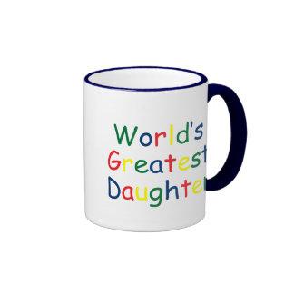 World's Greatest Daughter Coffee Mug